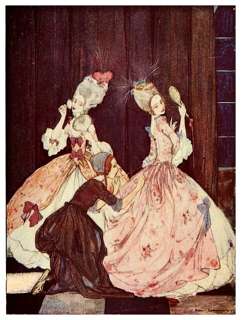 011- Cenicienta-Favourite French fairy tales -1921-ilust. Rie Cramer