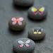 Butterfly pebbles by {JooJoo}