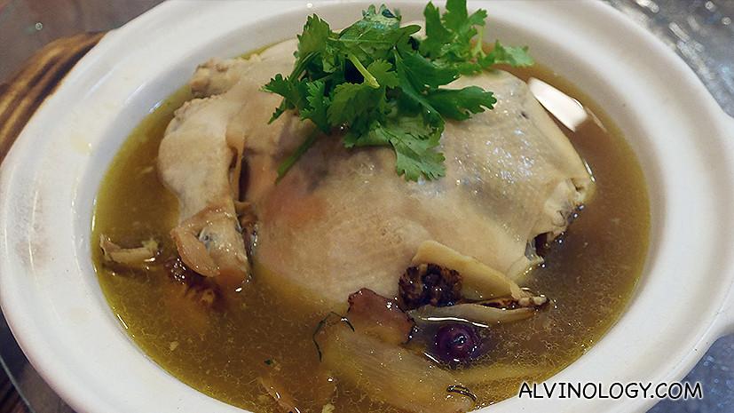 Herbal Chicken (CNY item)