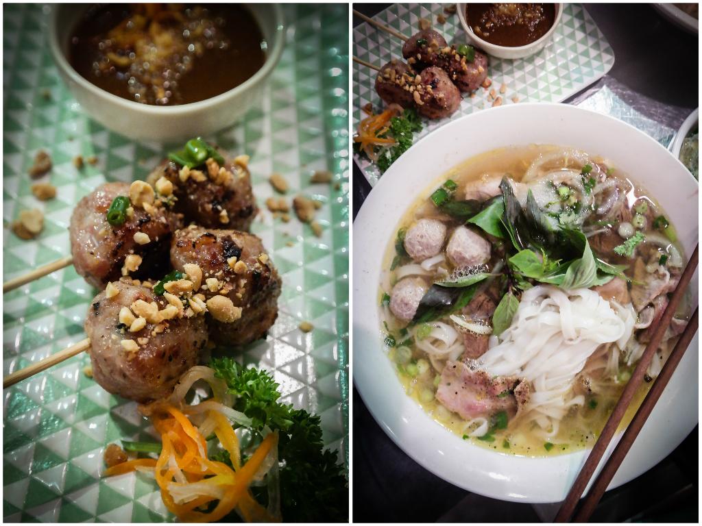 MRS PHO's Hanoi meat balls