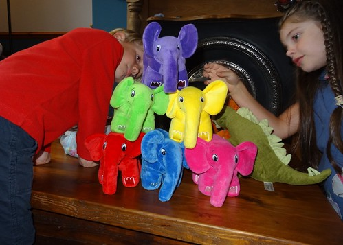 Elephpant (and dinosaur) Pyramid