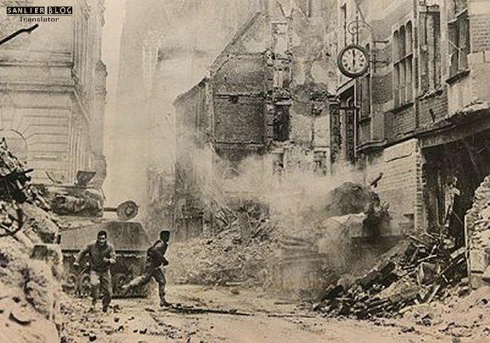 坦克战:活活烧死20