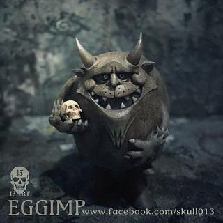 13 ART EGGIMP 蛋惡魔
