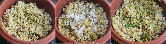 How to make jowar khichdi - Step4