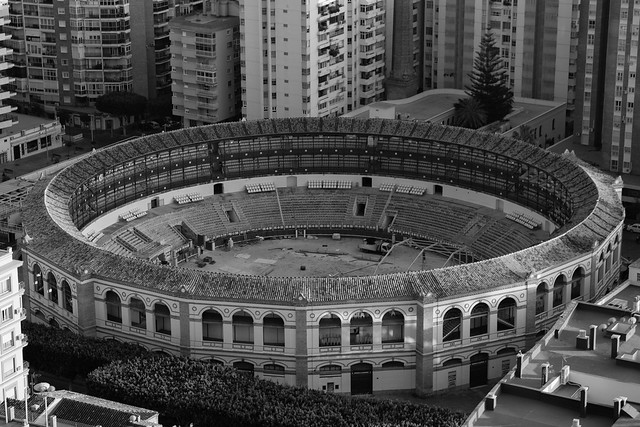 Malaga in Black and White