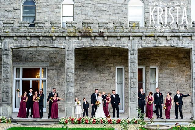 Glamorous Wedding at Reid Castle at Manhattanville College ...