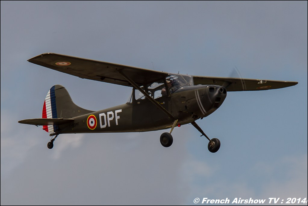 Cessna 305-C Birddog - F-GDPF, Meeting des 60 ans de l'ALAT 2014 ,Cannet des Maures