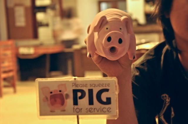 Rubber Piggy