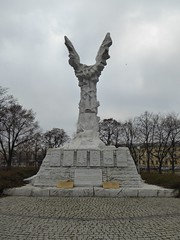 Monument to the Battle of Monte Cassino in Warsaw