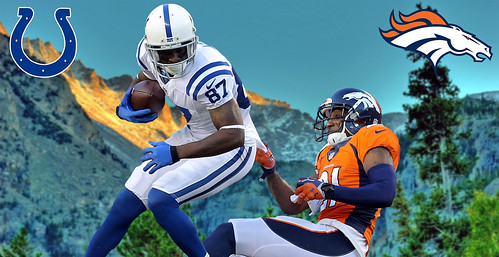MATCH UP in the MOUNTAINS - COLTS @ BRONCOS
