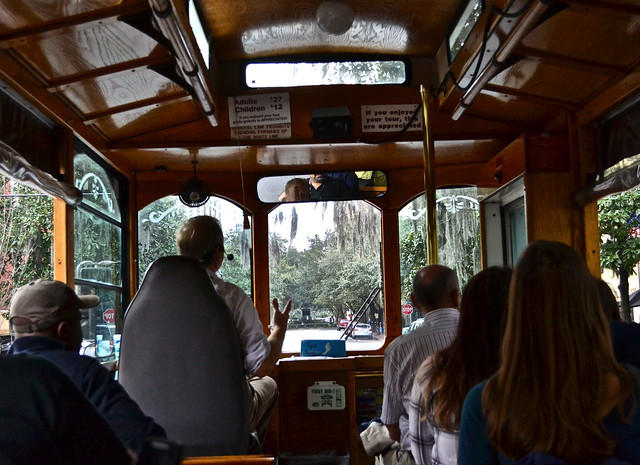 old savannah tours - trolley tour