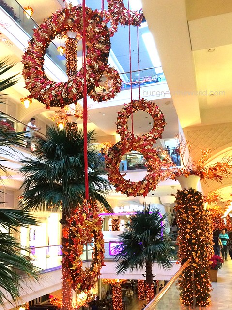 Festive Holiday Decor at Powerplant