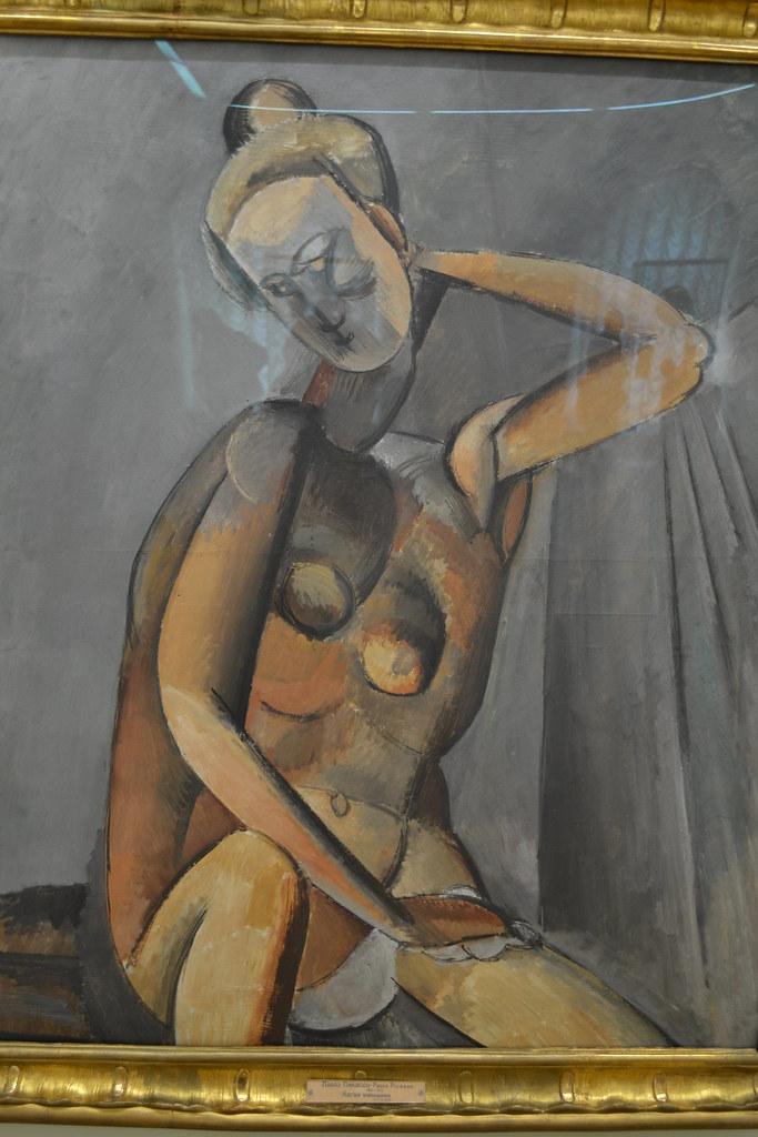 Nude - Pablo Picasso 1909