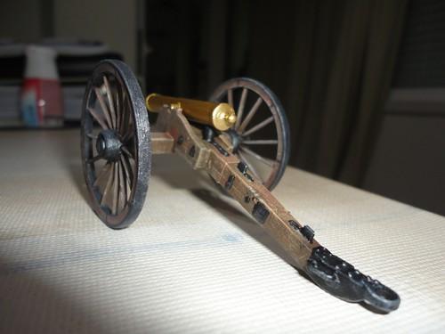IMEX 1:32/54mm Confederate Cannon Set ref 781 16277159006_839660e625