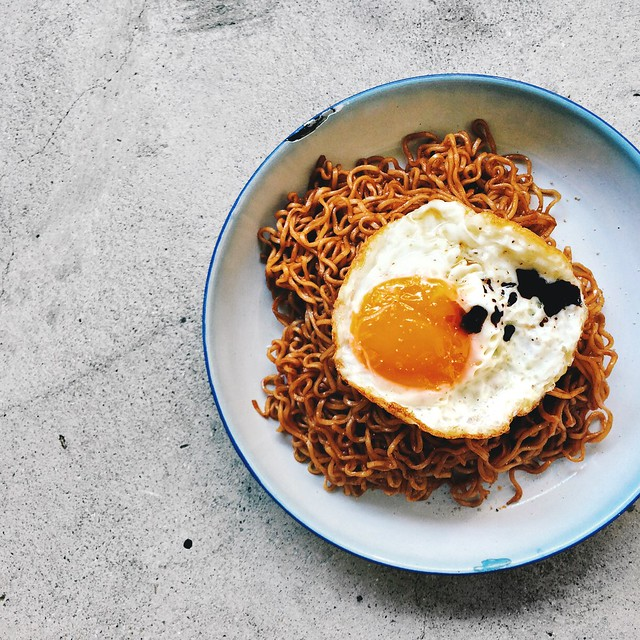 Crispy Fried Egg - Life is Great