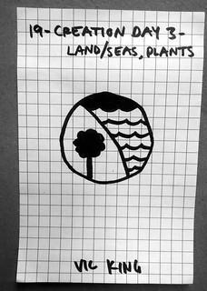 Creation Day 3 - Land / Seas, Plants
