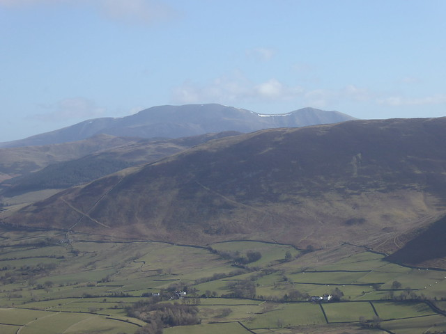 Skiddaw from Low Fell