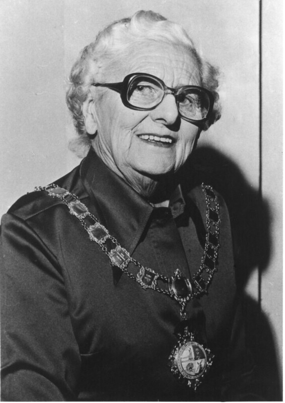 Miss Alice Cranidge - Crowle Mayor 1976/77