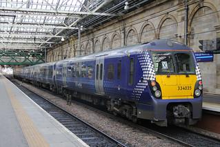 334035 & 334027, Edinburgh Waverley, March 1st 2016