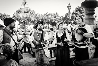 Old fashioned quartet