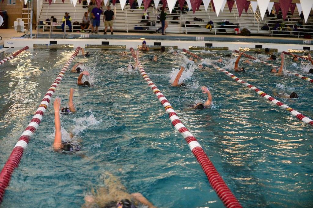 Prep swimming at Chalmette High