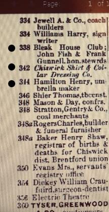1911: Chiswick High Road