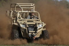 Falcon Brigade takes new off-road vehicle for test drive