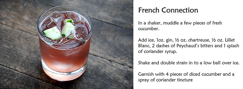 East Thirty-Six - Cocktail Recipe - French Connection