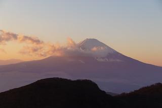 110 Mount Fuji vanaf mt Komagatake