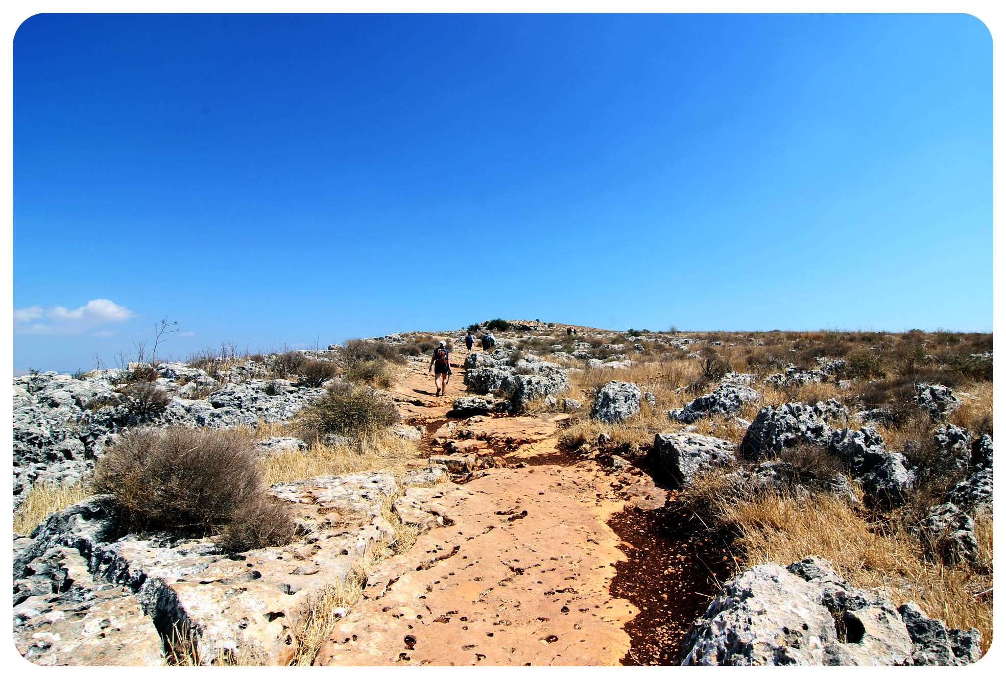 israel national trail northern israel path