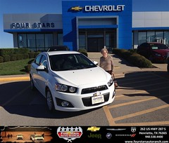 #HappyAnniversary to Anna Jean Crowley on your #Chevrolet from Everyone at Four Stars Auto Ranch!