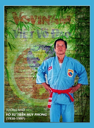 Cố võ sư Trần Huy Phong