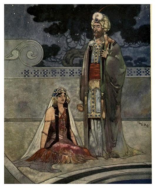 015-Rubáiyát of Omar Khayyám-1913- Ilustrado por René Bull