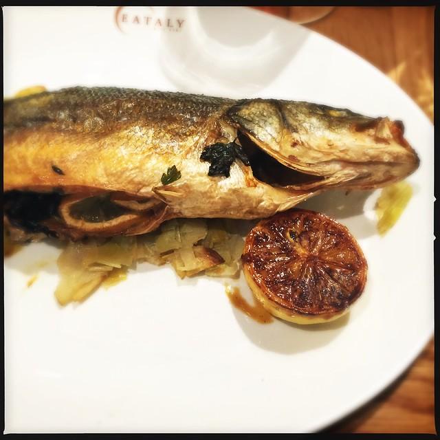 Branzino eataly chicago flickr photo sharing for What is branzino fish