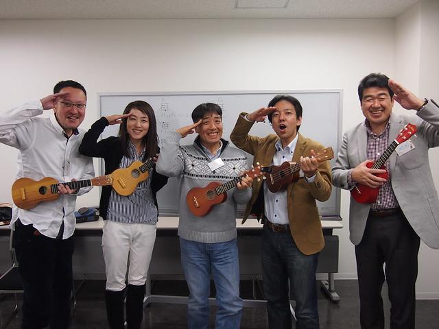 第2回2時間でウクレレマスター♪in東京 2014.11.15