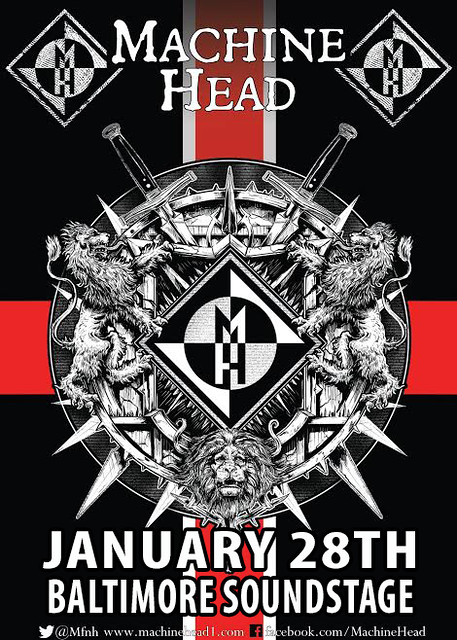 Machine Head at the Baltimore Soundstage