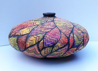 """Vase """"Autumn"""" 13x29cm"""