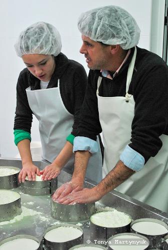 4 - мастер-класс по приготовлению сыра - традиции Португалии