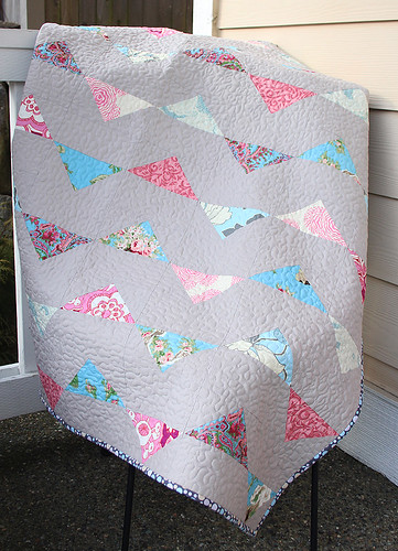 Bunting Baby Quilt Pattern