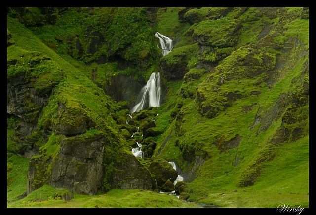 Cascadas en Vík