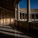 Palacio de Carlos V - Sol de noviembrep