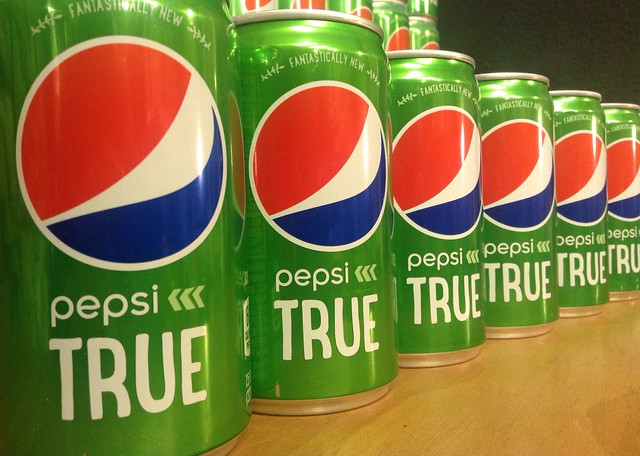Pepsi True Soda with Stevia