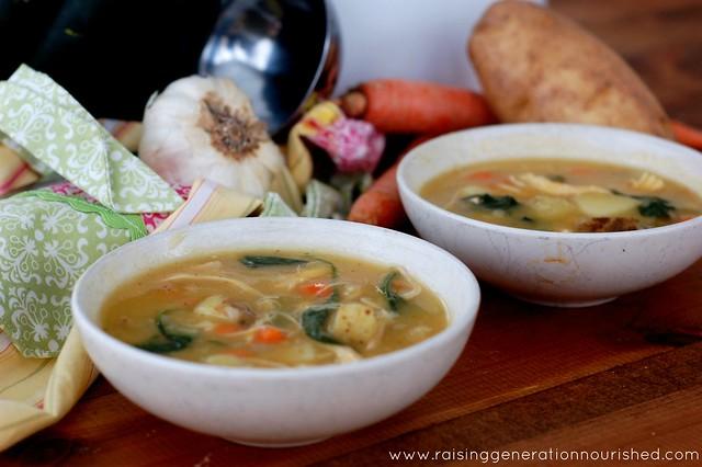 Autumn Harvest Chicken Stew