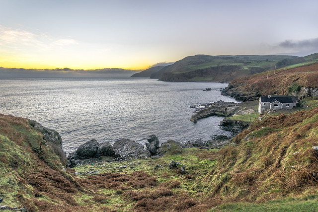 The house in Torr Head, Northern Ireland