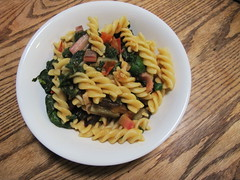 pasta salad, vegetable, fusilli, vegetarian food, pasta, food, dish, rotini, cuisine,
