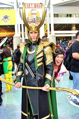 Halloween comicfest, Loki Cosplay