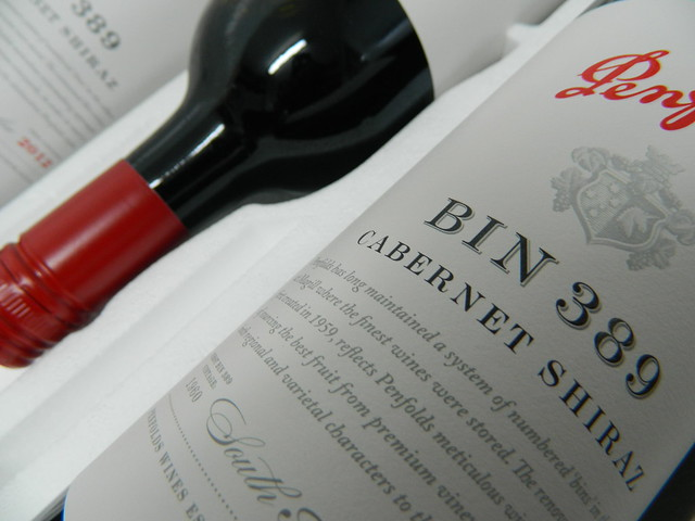 Penfolds 'BIN 389' Cabernet + Shiraz 2012 (New Label Design)