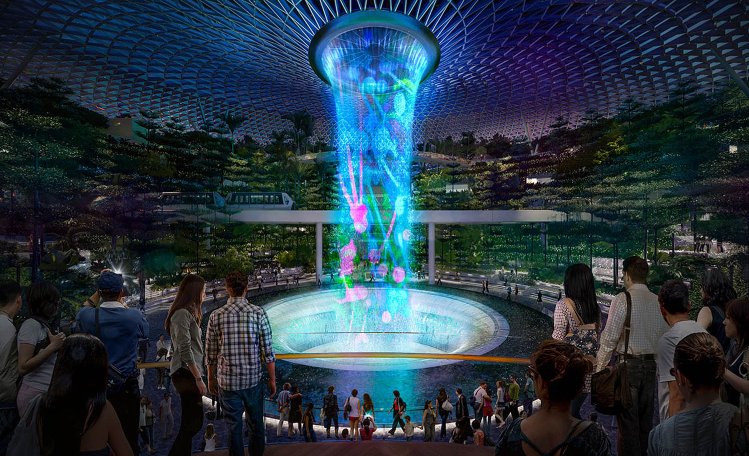 Jewel Changi Airport design by Safdie Architects