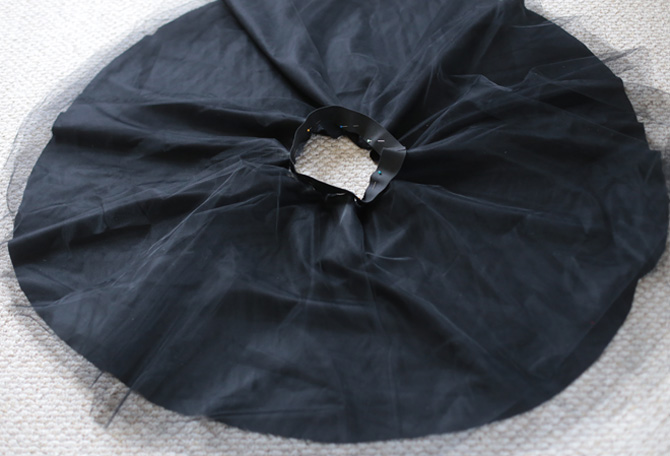 tulle skirt DIY steps7