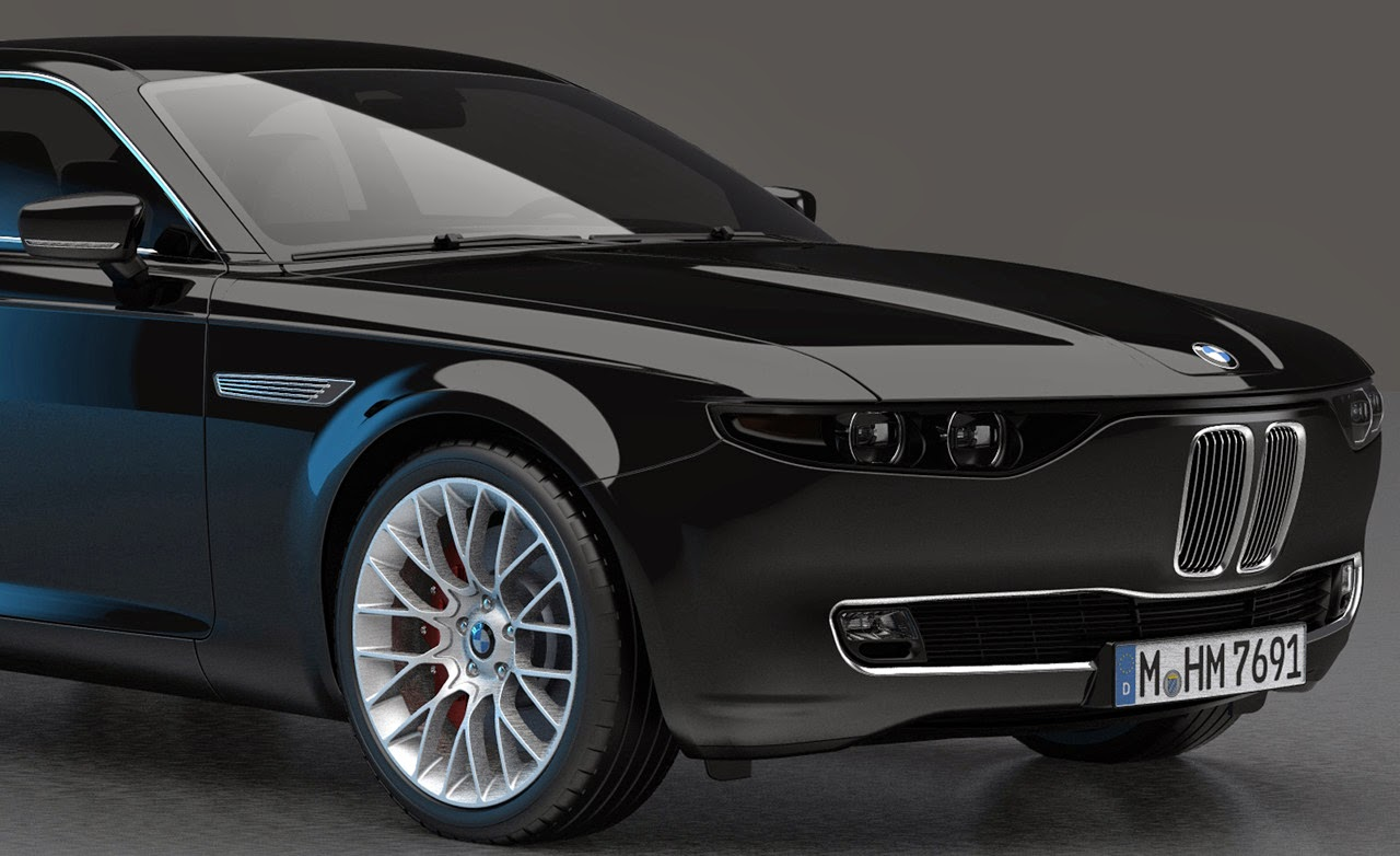 The amazo effect digital garage bmw cs vintage concept for Garage bmw 57 thionville
